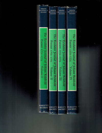 London: The Hakluyt Society, 1982. Complete 4 volume set, Fine in Near Fine dust jackets with light ...