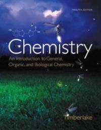image of Chemistry: An Introduction to General, Organic, and Biological Chemistry (12th Edition) - Standalone book
