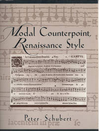 image of Modal Counterpoint, Renaissance Style