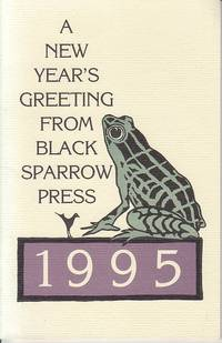 image of Confession of a Coward / A New Year's Greeting Fom Black Sparrow Press 1995 - LIMITED EDITION