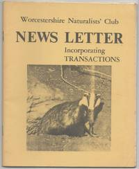 image of News Letter incorporating Transactions. Vol.3 No.7