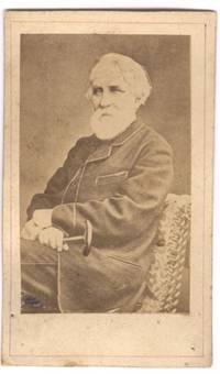 image of Unsigned carte de visite photo (Ivan, 1818-1883, Russian Novelist & Dramatist)]