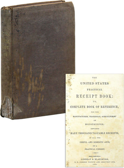 Philadelphia: Lindsay & Blakiston, 1845. Reprint. Octavo (19cm); publisher's tan blind-embossed clot...