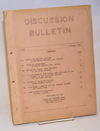 image of Discussion bulletin, A-23, October, 1954
