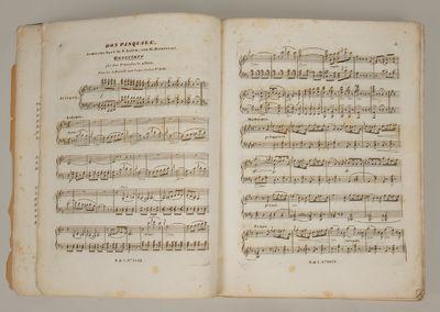 Wien: Ant. Diabelli und Comp. , 1843. PROCH, Heinrich 1809-1878 (trans.). Folio. Brown cloth-backed ...