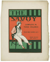 Poster to advertise THE SAVOY