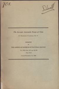 image of JURASSIC AMMONITE FAUNA OF CUBA. Bulletin of the American Museum of Natural History, Vol. XLII, Art. XCI, The.