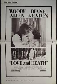image of Love and Death Pressbook 1975 Woody Allen, Diane Keaton
