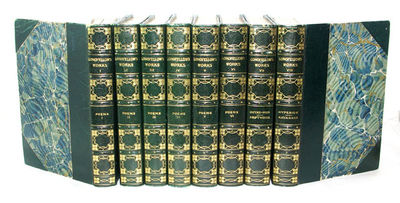Boston: Houghton Mifflin Company, (1904). Reprint. All 8 volumes of this set of eight are in very go...