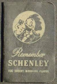 image of Remember Schenley for Sunny Morning Flavor [address book with recipes for Schenley reserve whiskey and gin]