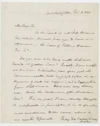 Autograph letter signed to Theophilus Parsons, Jr., Washington, D.C., 2 February 1840