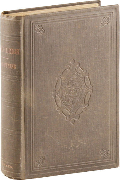 New York: C. S. Francis & Co, 1857. First American Edition. Second impression, with both signature e...