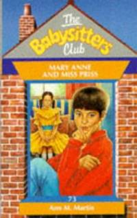 image of Mary Anne and Miss Priss (Babysitters Club S.)