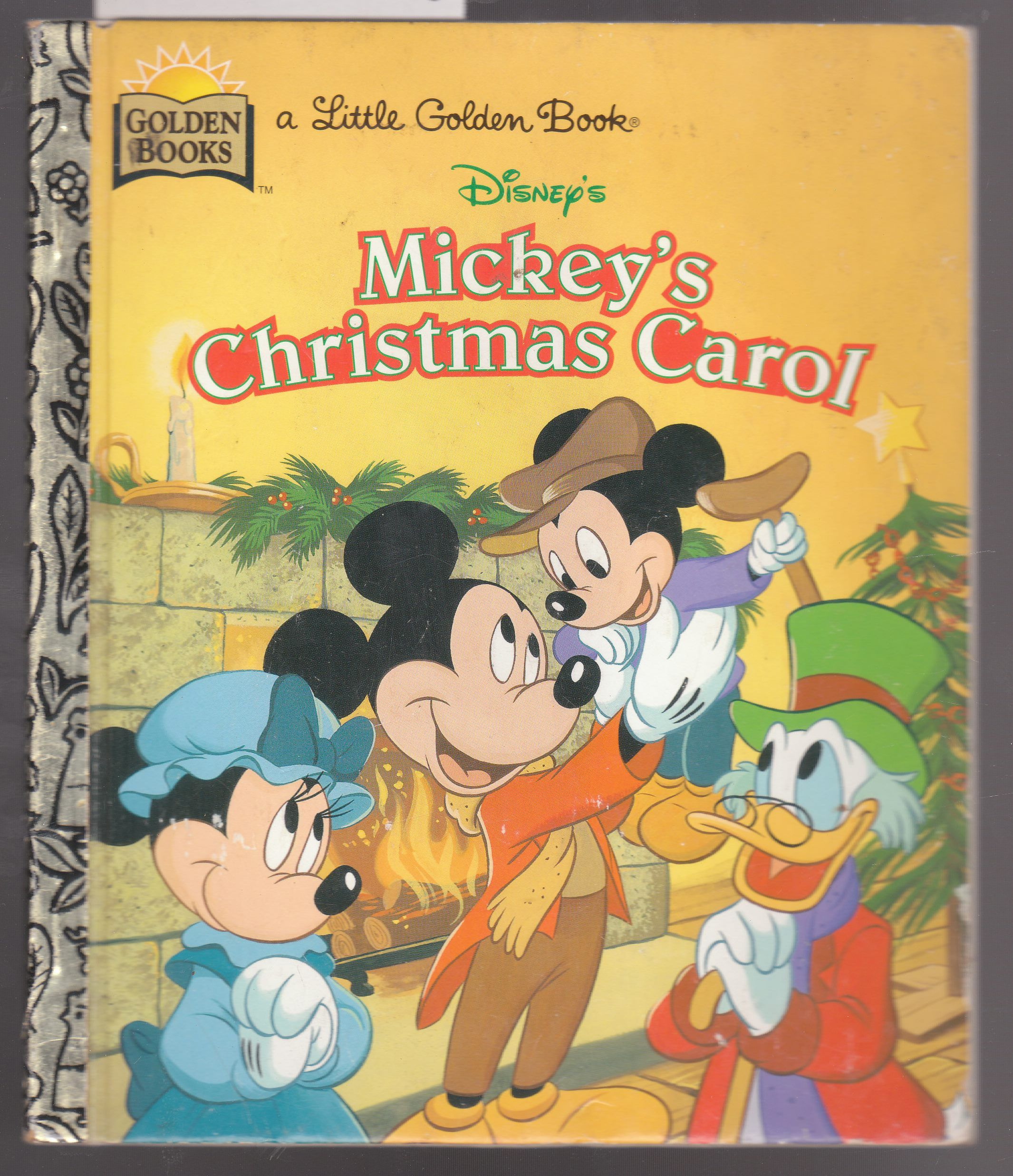 Christmas Carol Book.Disney S Mickey S Christmas Carol A Little Golden Book By Walt Disney First Edition 1970 From Laura Books And Biblio Com