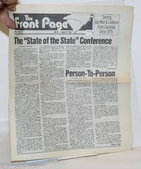 image of The Front Page: vol. 11, #14 July 24-August 6, 1990: State of the State Conference