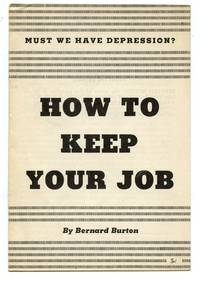 image of Must We Have Depression? How To Keep Your Job