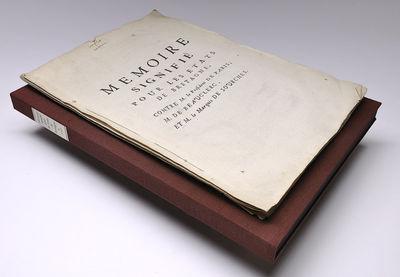 Paris: Paris, de l'imprimerie de la veuve de Andre Knapen, 1740. Softcover. Very good. Large folio (...