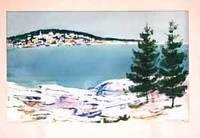 image of Maine Village, Winter