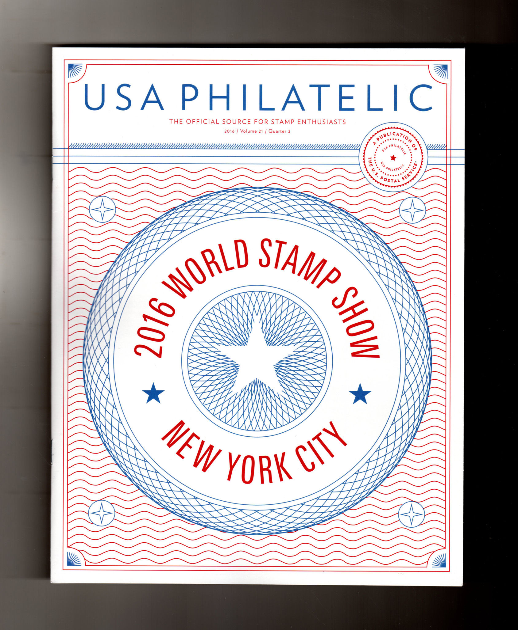 Usa Philatelic Volume 21 Quarter 1 2016 Post Office