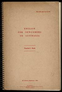 image of English for Newcomers to Australia: Teacher's Book