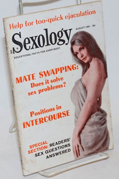 New York: Sexology Corp, 1969. Magazine. 70p., 5.25x7.785 inches, illustrations, very good digest-si...