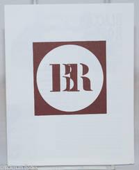 image of [Advertising brochure for the anarchist journal Black Rose]