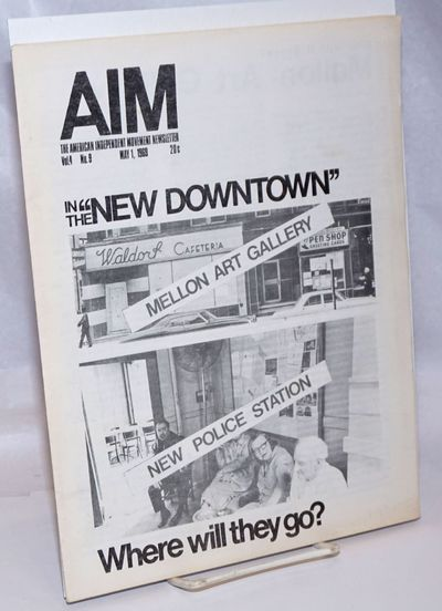 New Haven: AIM, 1969. 19p., single issue of the 8.5x11 inch newsletter, very good. Includes much cov...