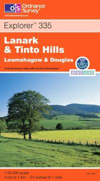 image of Lanark and Tinto Hills: Lesmahagow and Douglas (Explorer S.)