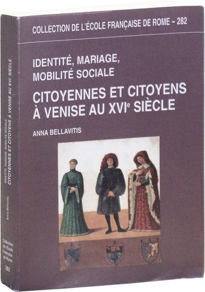 Rome: École Française de Rome, 2001. First Edition. Octavo (24cm.); publisher's purple pictorial w...