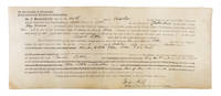 Court Judgement and Binding Order To Keep the Peace, 1887