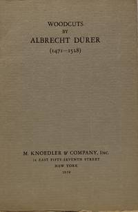 Catalogue Of An Exhibition Of Woodcuts by Albrecht Durer