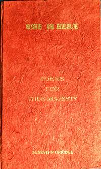 S/HE IS HERE : Poems for THEE MAJESTY (Signed & Numbered Ltd. Edition)