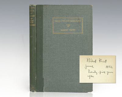 New York: Henry Holt and Company, 1930. First edition, early printing of Frost's second published bo...