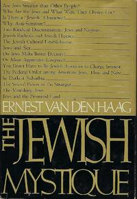 THE JEWISH MYSTIQUE by  Ernest Vanden HAAG - First Edition - 1969 - from Antic Hay Books (SKU: 55996)