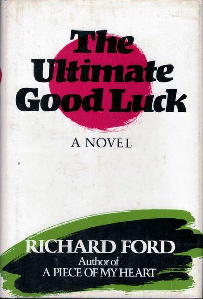 Boston: Houghton Mifflin, 1981. First edition. Stiff Wraps. Orig. black cloth lettered in silver. Fi...