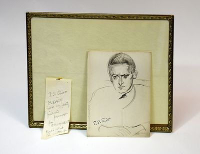 Sketch of T. S. Eliot (from Durban...