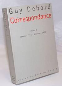 image of Correspondance: Volume 5, Janvier 1973-Decembre 1978