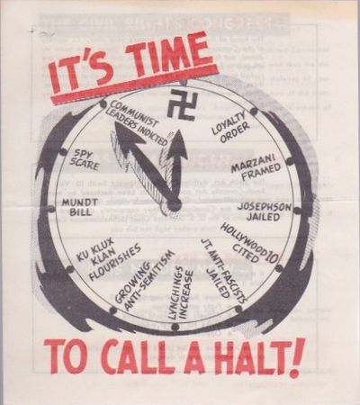 It's Time to Call a Halt!