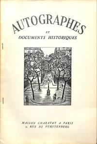 Bulletin Supplémentaire no.3/1952 : Autographes et Documents Historiques