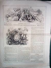 image of A Vintage Issue of the Youth's Penny Gazette for July 1857