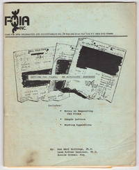 Getting F.B.I. Files: An Activists' Handbook