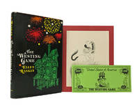 image of The Westing Game; with: Newbery and Caldecott Awards dinner program for 1979; with: The Westing Game souvenir $1000 bill