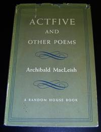 image of Actfive and Other Poems
