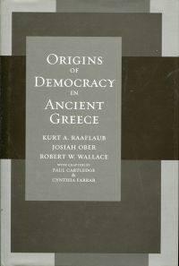 Origins of democracy in ancient Greece.
