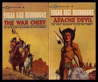 THE WAR CHIEF - with - APACHE DEVIL by Burroughs, Edgar Rice - 1964