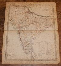 "Map of India - disbound sheet from 1857 ""University Atlas by  J. & C. Walker Edward Stanford - Paperback - First Edition - 1857 - from Bailgate Books Ltd and Biblio.com"