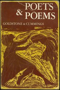 POETS AND POEMS, Goldstone, Herbert and Irving Cummings editors