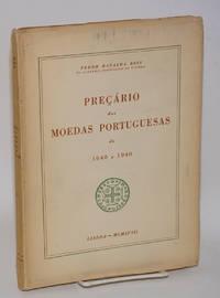 Preçário das moedas portuguesas de 1640 a 1940. Açores-Madeira