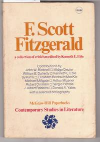 F. Scott Fitzgerald, A Collection of Criticism : Varuious Contributors by  Kenneth E. (edited) Eble - Paperback - First Edition - 1973 - from Laura Books (SKU: 020557)