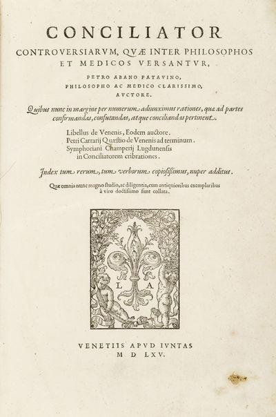 Conciliator controversiarum, quae...